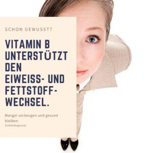 Vitamin B und Stoffwechsel