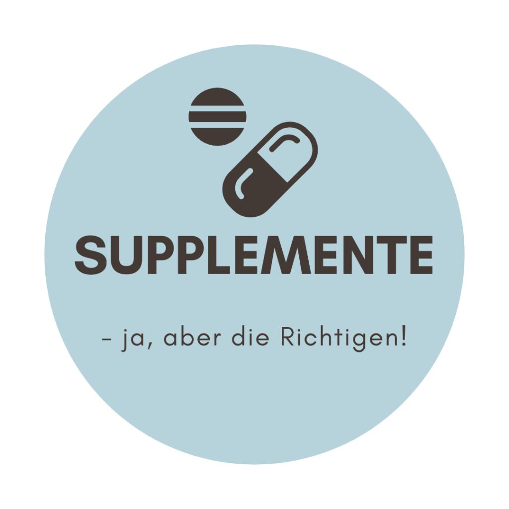 die richtigen supplemente