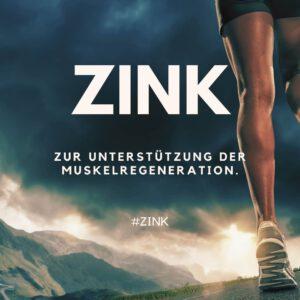 Zink zur Muskelregeneration